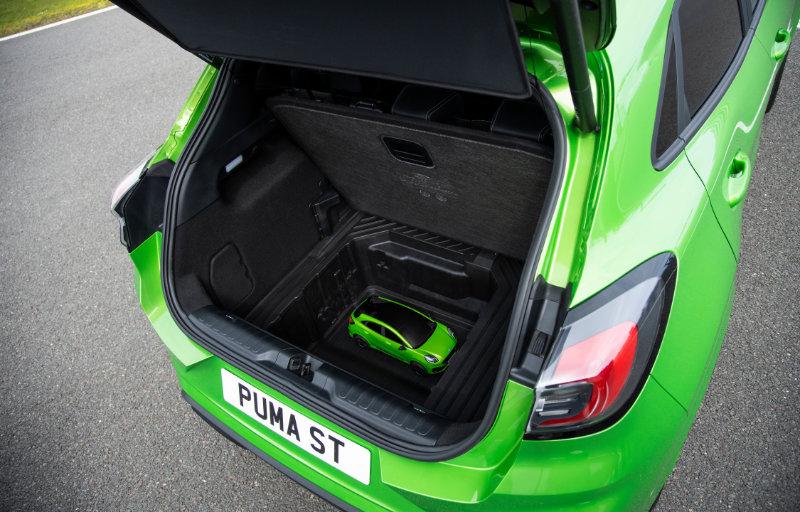 Ford Puma ST bagasjerom