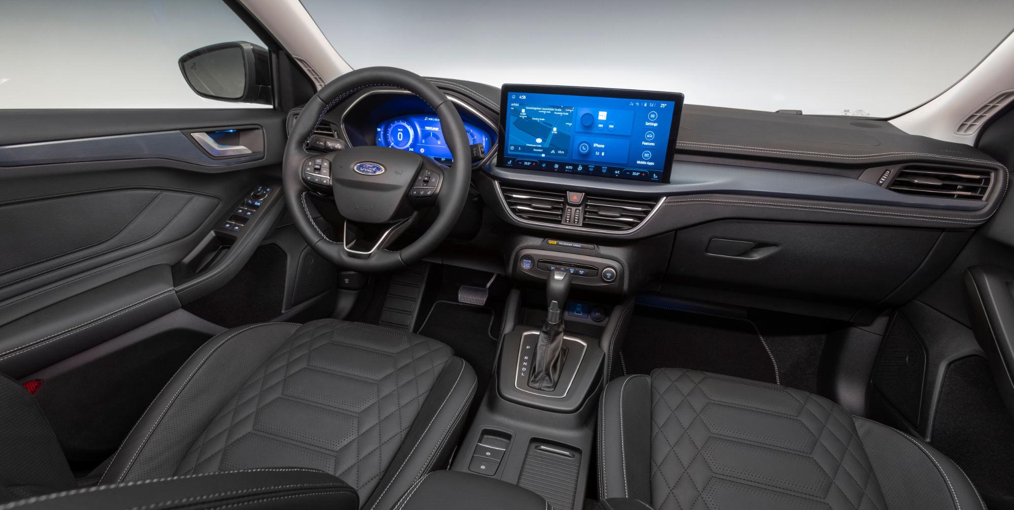 Nye Ford Focus interiør