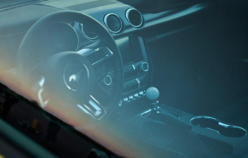 Ford Mustang Mach 1 ratt