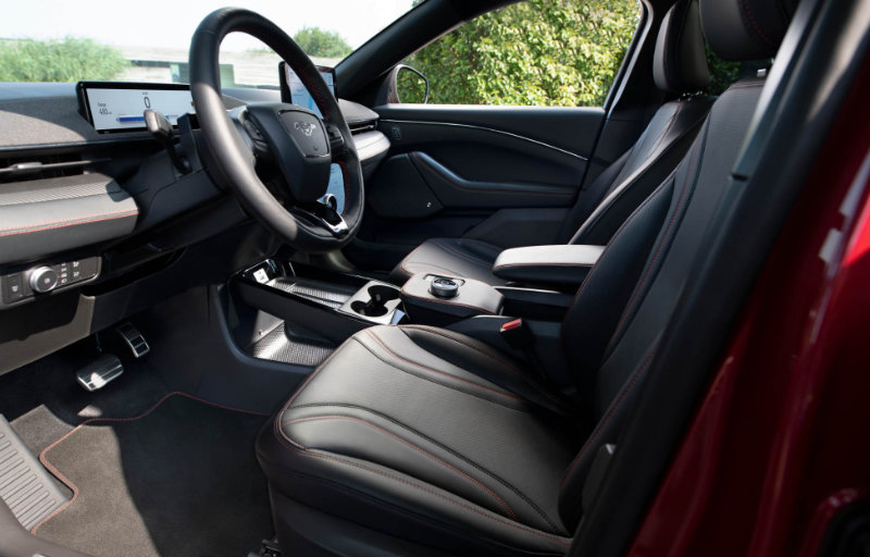 Mustang Mach-E interiør