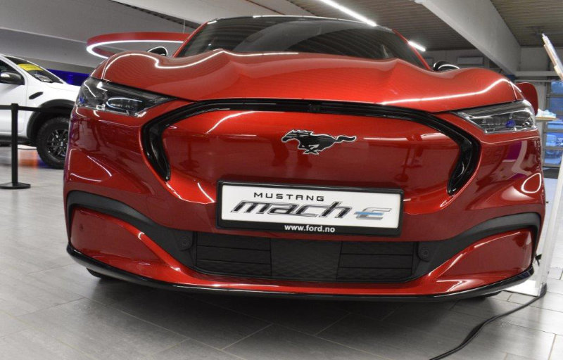 Mustang Mach-E i Egersund