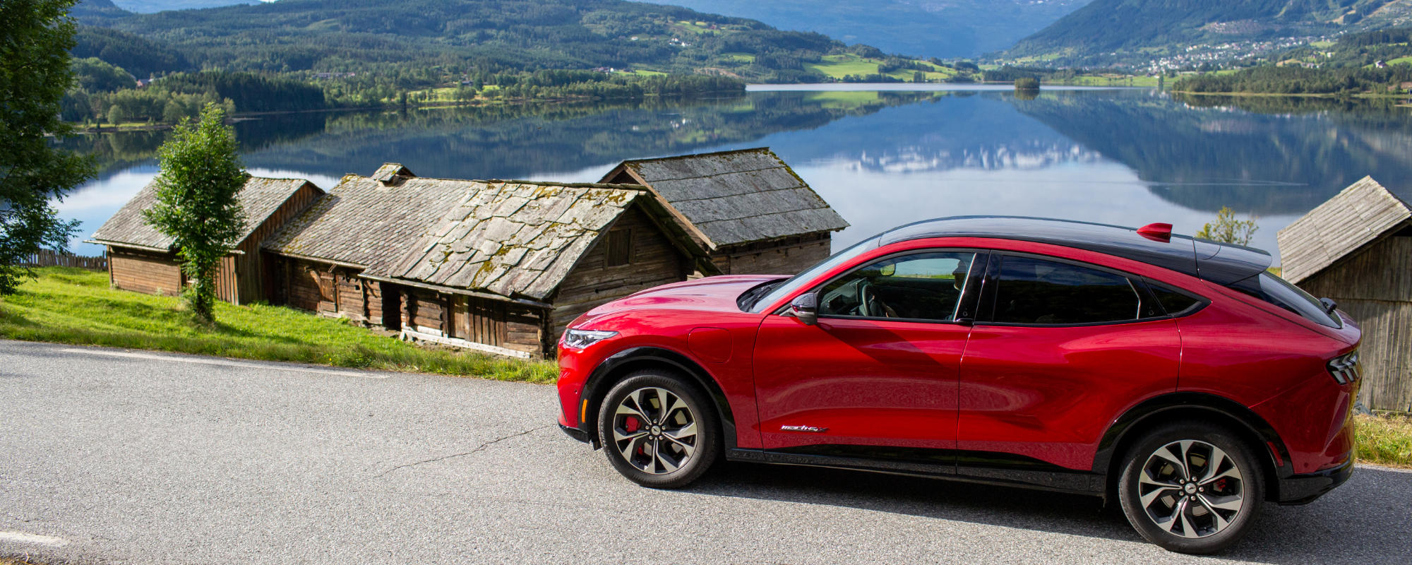 Mustang Mach-E i Norge