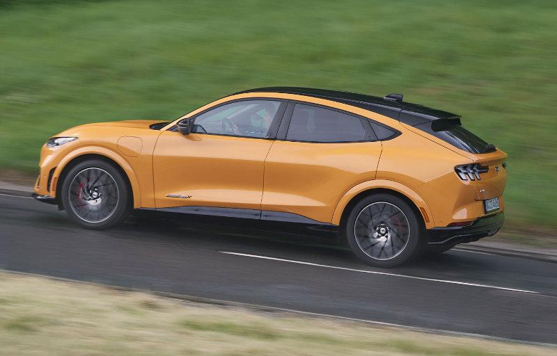 Mustang Mach-E GT side