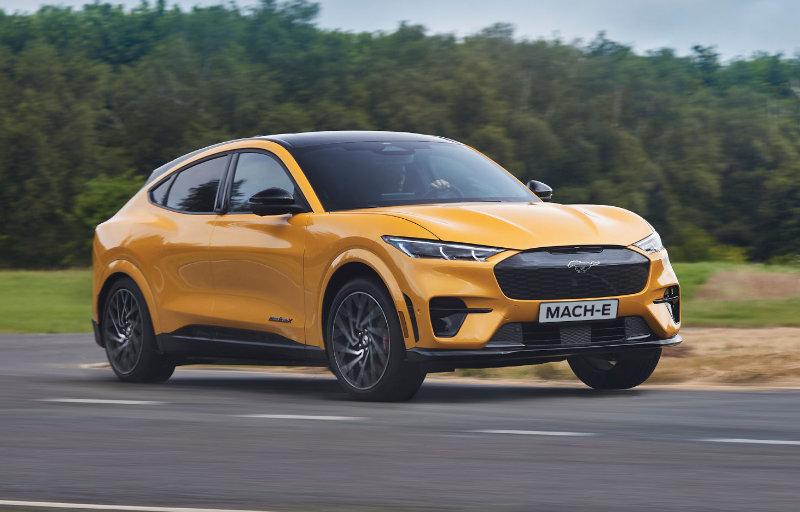 Mustang Mach-E GT i fart