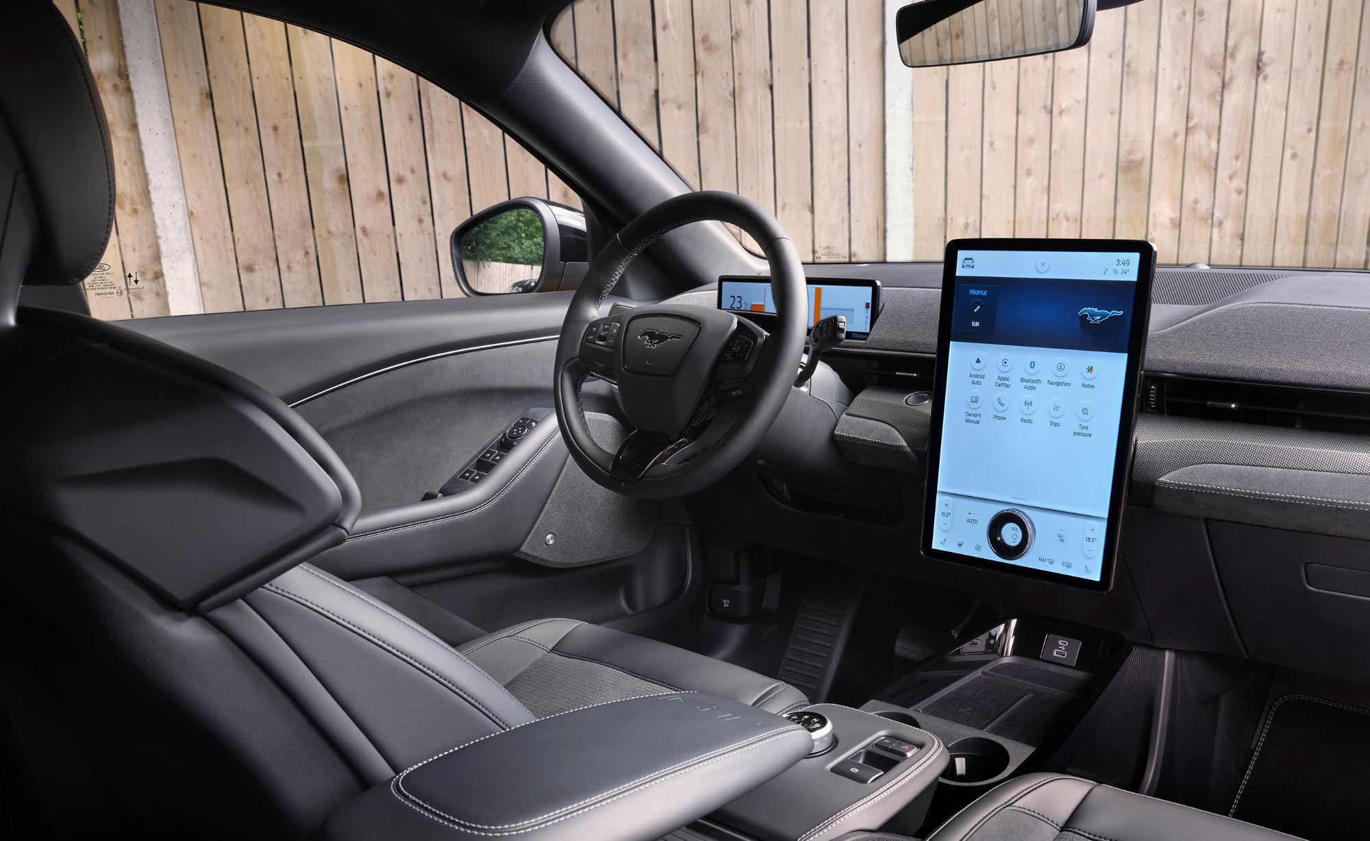 Mustang Mach-E GT interiør