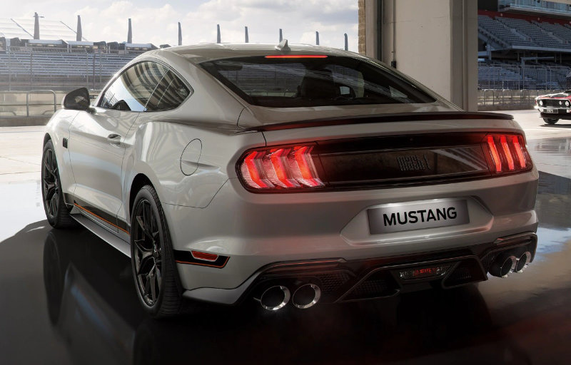 Ford Mustang Mach 1 til Norge