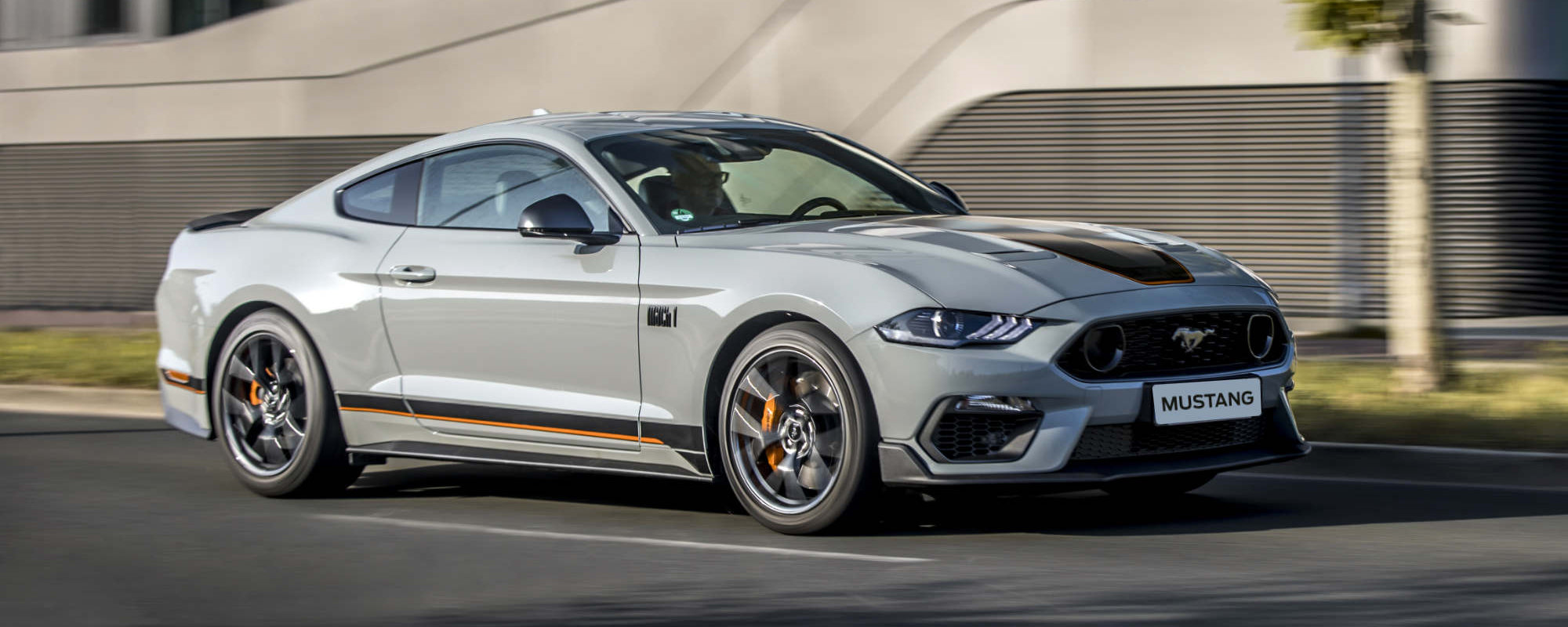 Mustang Mach 1 - Bergerkrysset Mysen