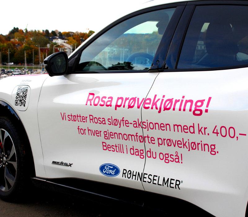 Rosa Mustang Mach-E