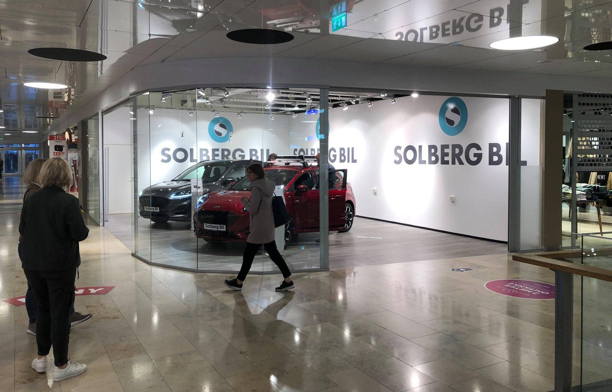 Solberg bil på Herkules