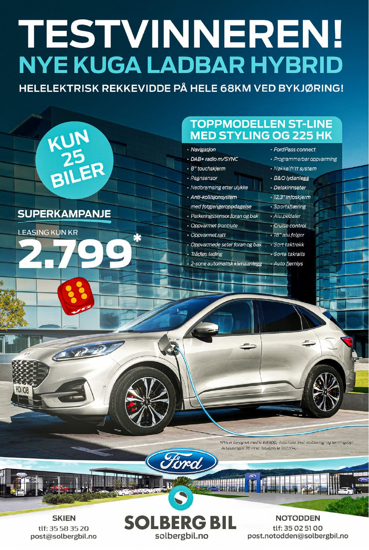 Nye Ford Kuga Superkampanje