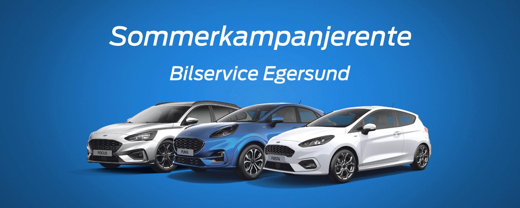 Bilservice Egersund - Sommerkampanje bruktbil