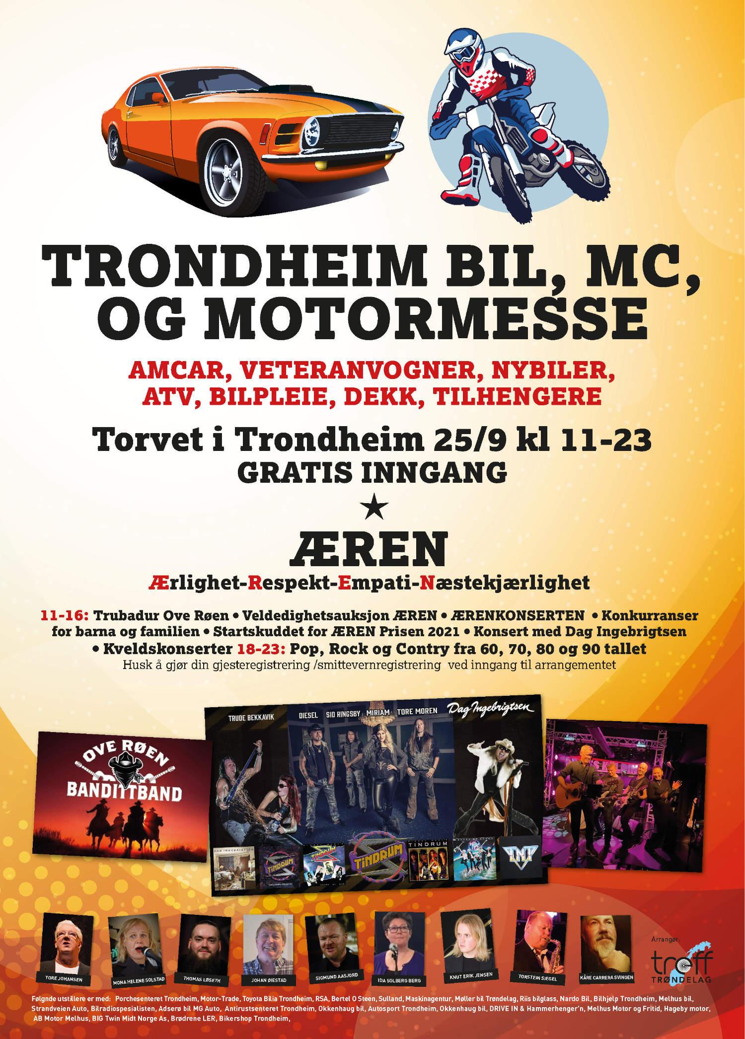 Trondheim Torg, på Trondheim Bil, MC og Motormesse