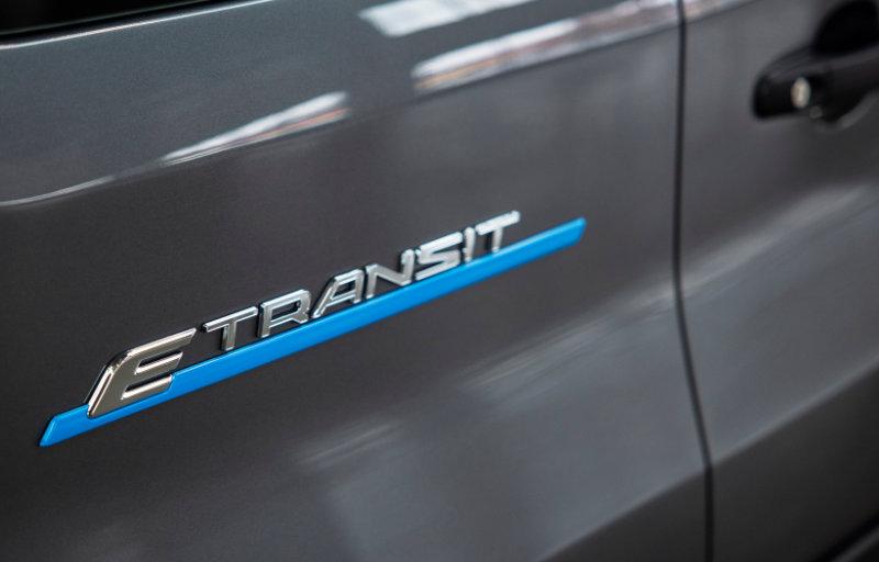 Nye helelektriske E-Transit