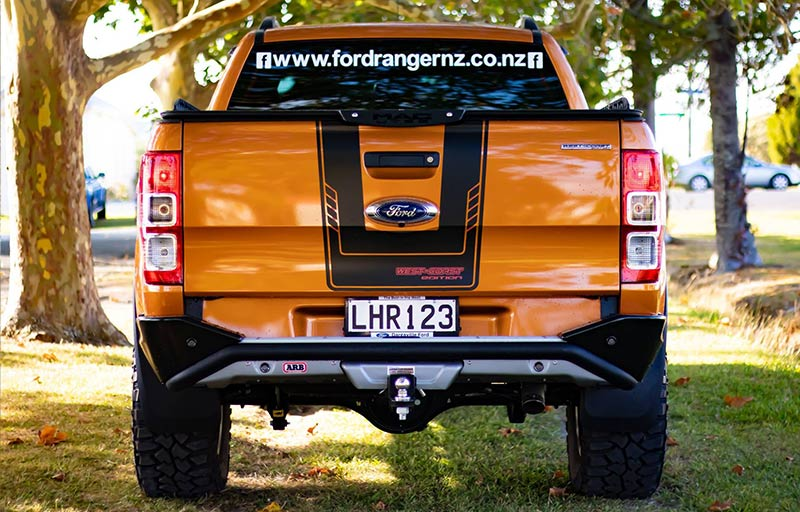 2018 4x4 Pride Orange West-Coast Edition Ranger - fully equipped.