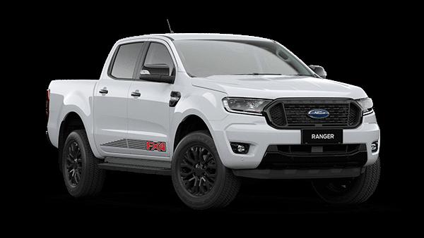 White Ford Ranger FX4 MAX BI-TURBO