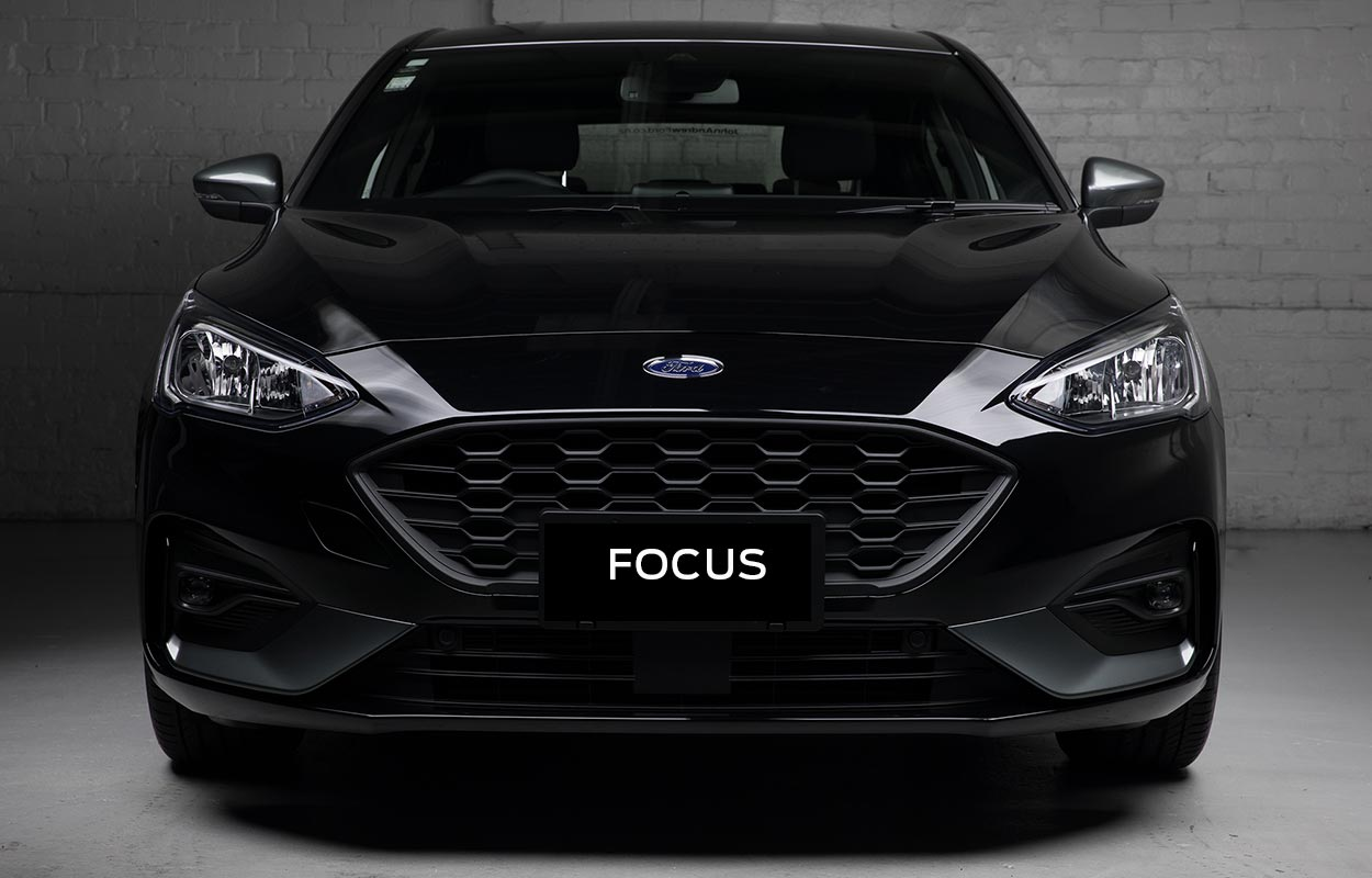 The 2020 Focus ST-Line with Vision Pack. Exclusive to John Andrew Ford.