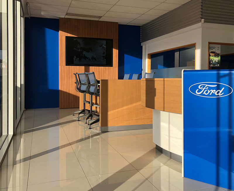 New customer area in our Invercargill Ford showroom!