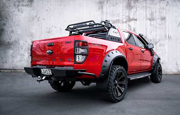 Ford Ranger XLT with Iron Man 4x4 accessories