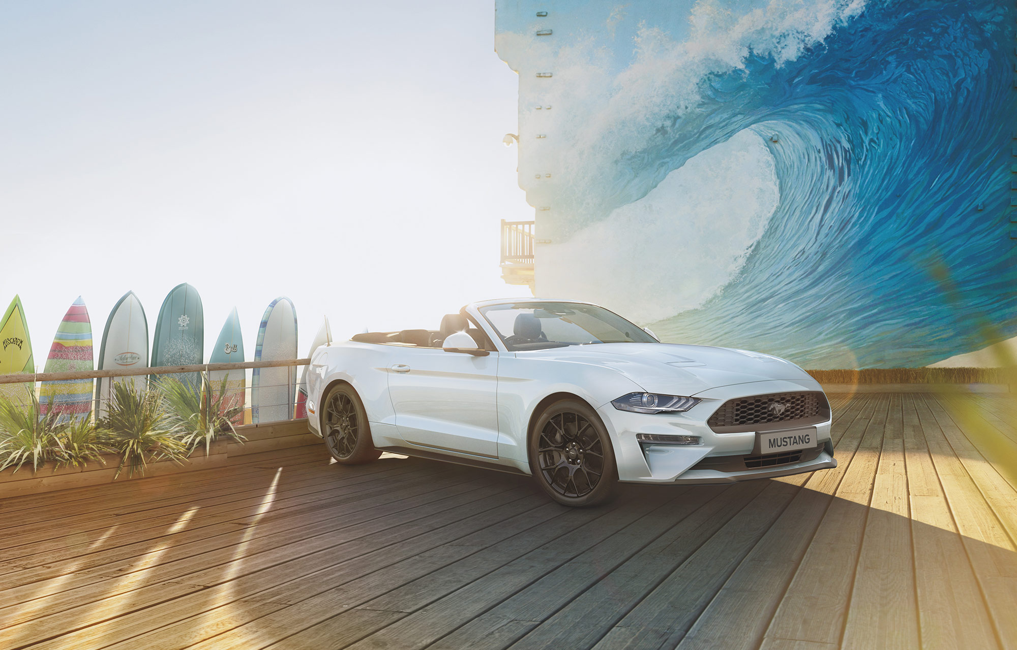 Ford Mustang EcoBoost™ Fastback Convertible