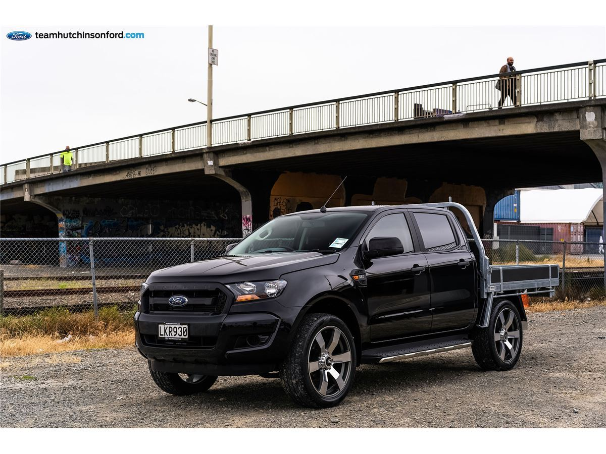 Ford Ranger XL Double Cab Flatdeck 2018