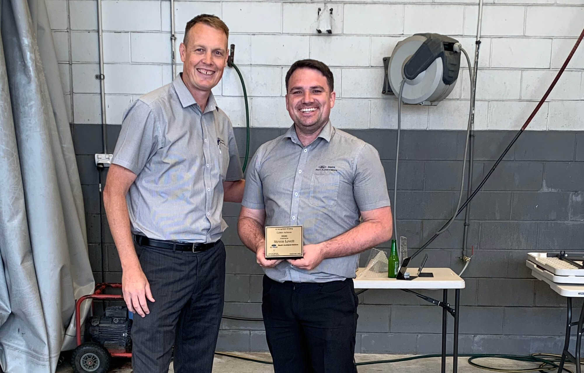 South Auckland Motors celebrates our hardworking team with an award ceremony/lunch