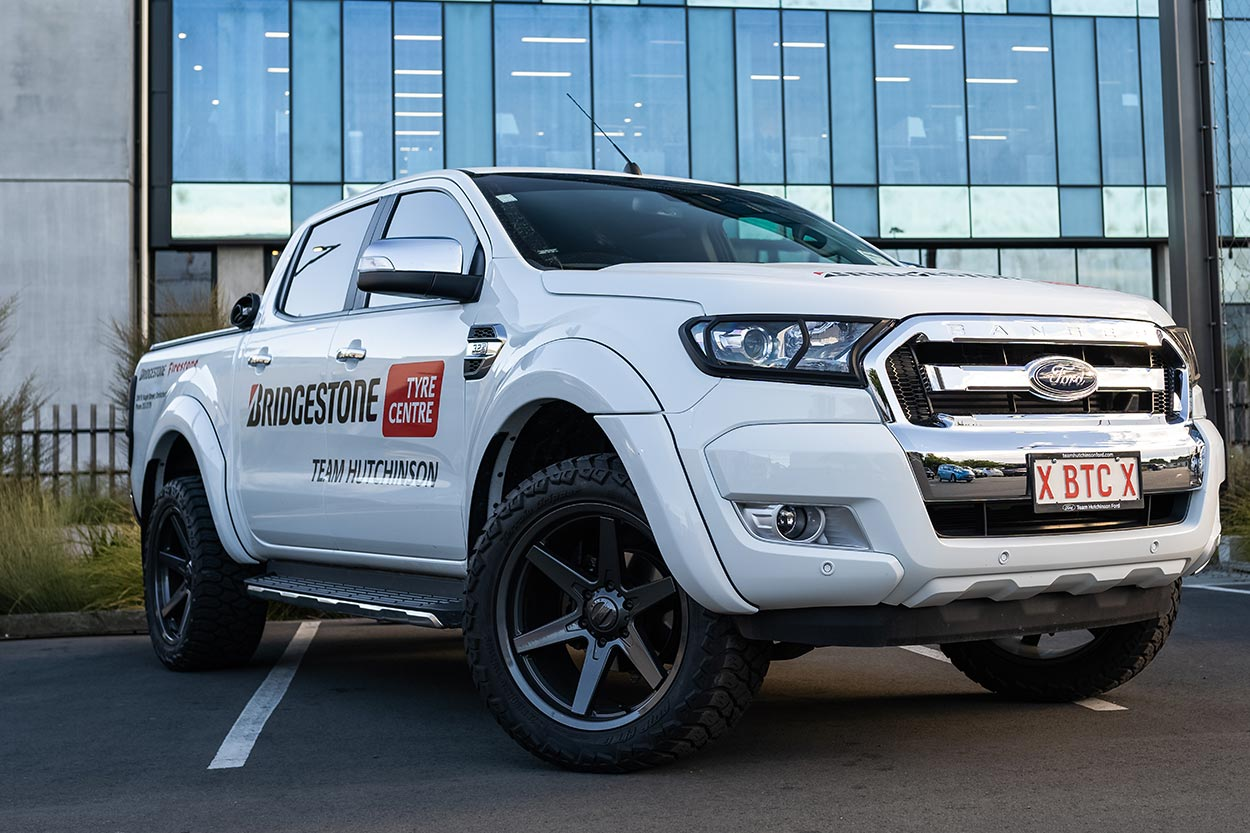 Personalise Your Ford Ranger with these BGW Primal alloys | Only at Team Hutchinson Ford, Christchurch