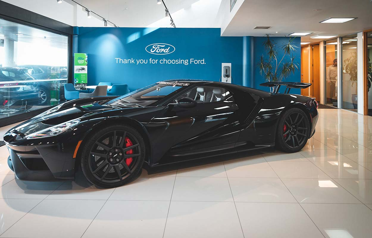 The South Auckland Motors Opens Redeveloped Dealership - Showroom Ford GT