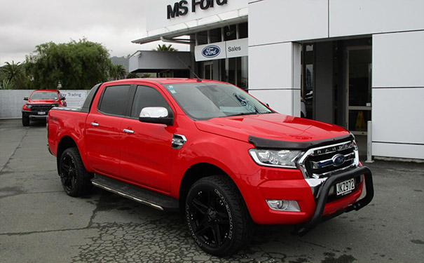 Ford Ranger deal from Gluyas Motors in Ashburton