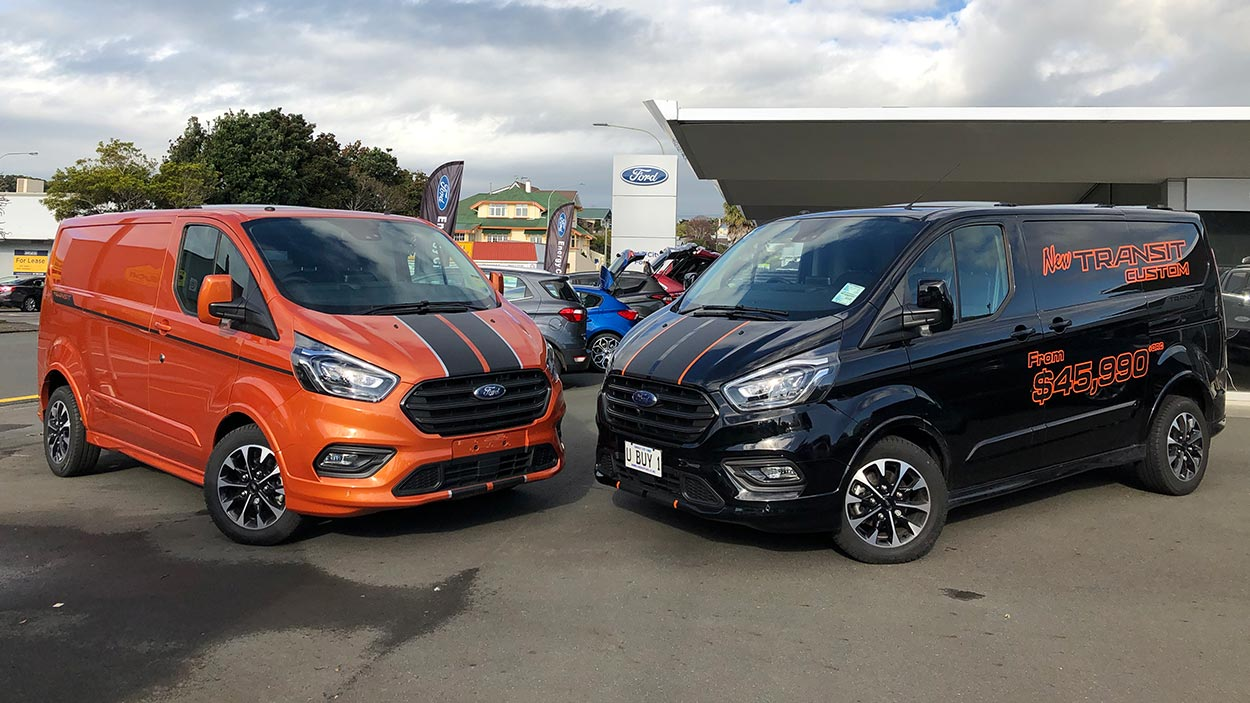 Transit Custom Sport has arrived at Energy City Ford