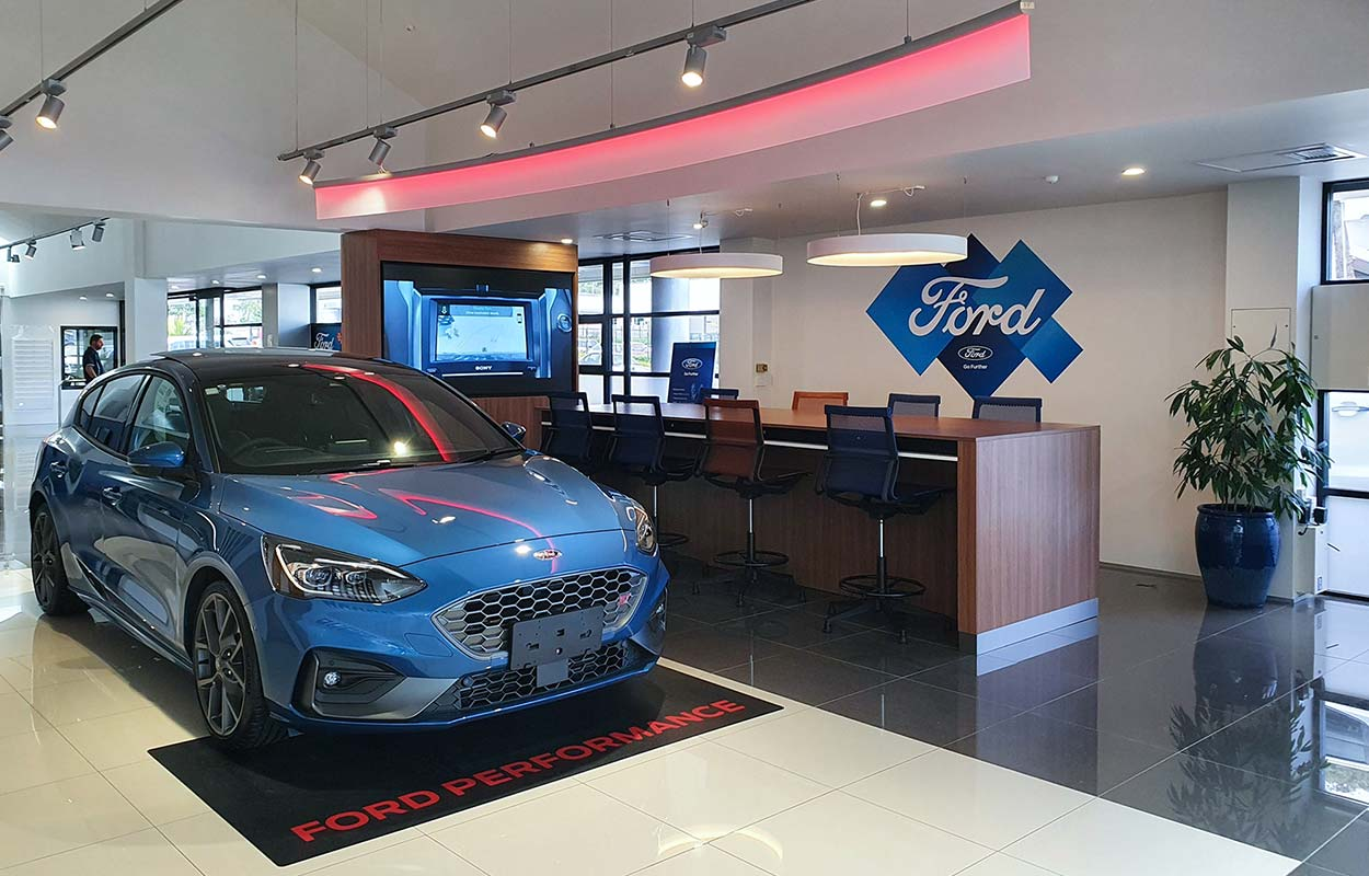 The South Auckland Motors Opens Redeveloped Dealership - Showroom Community Area
