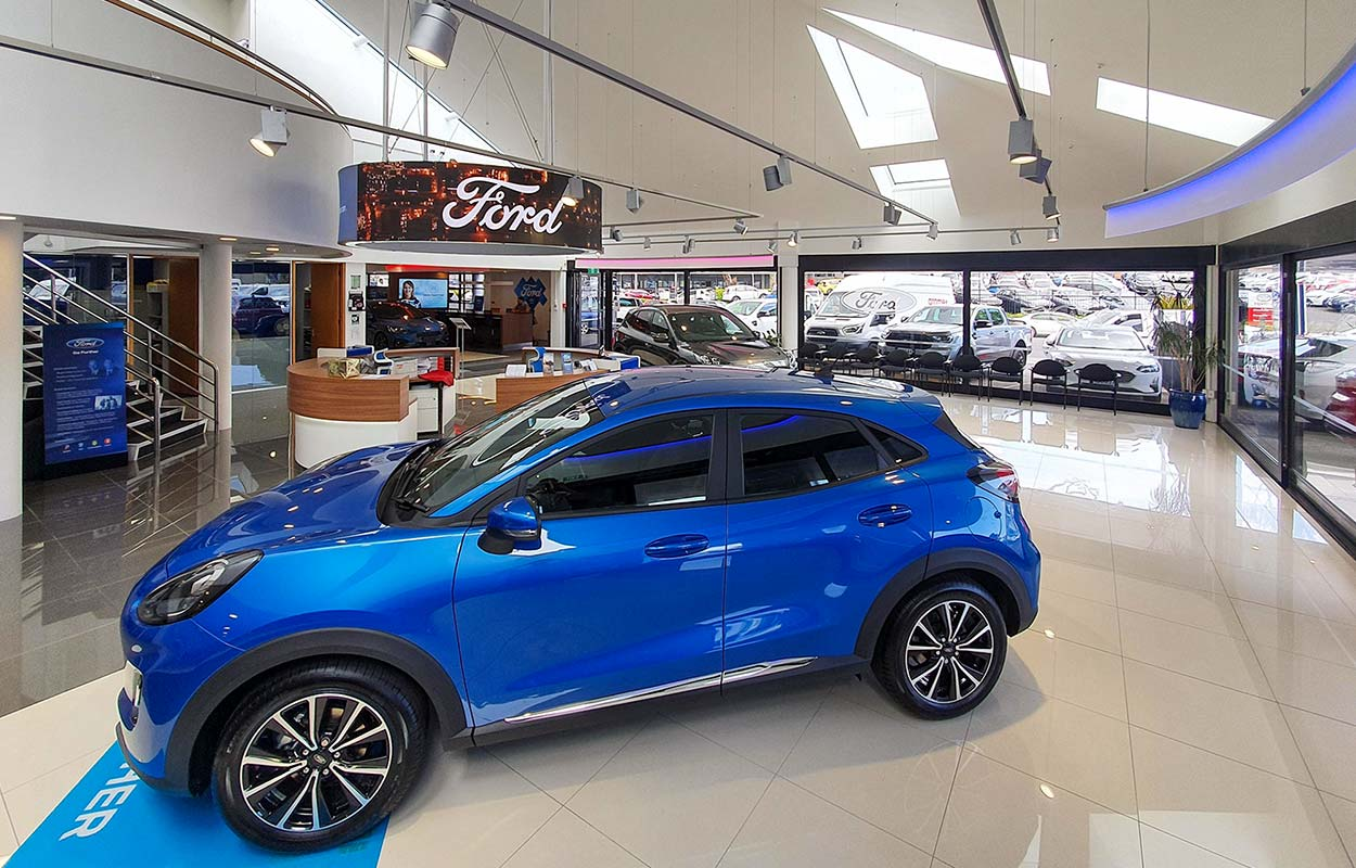 The South Auckland Motors Opens Redeveloped Dealership - Showroom Entrance