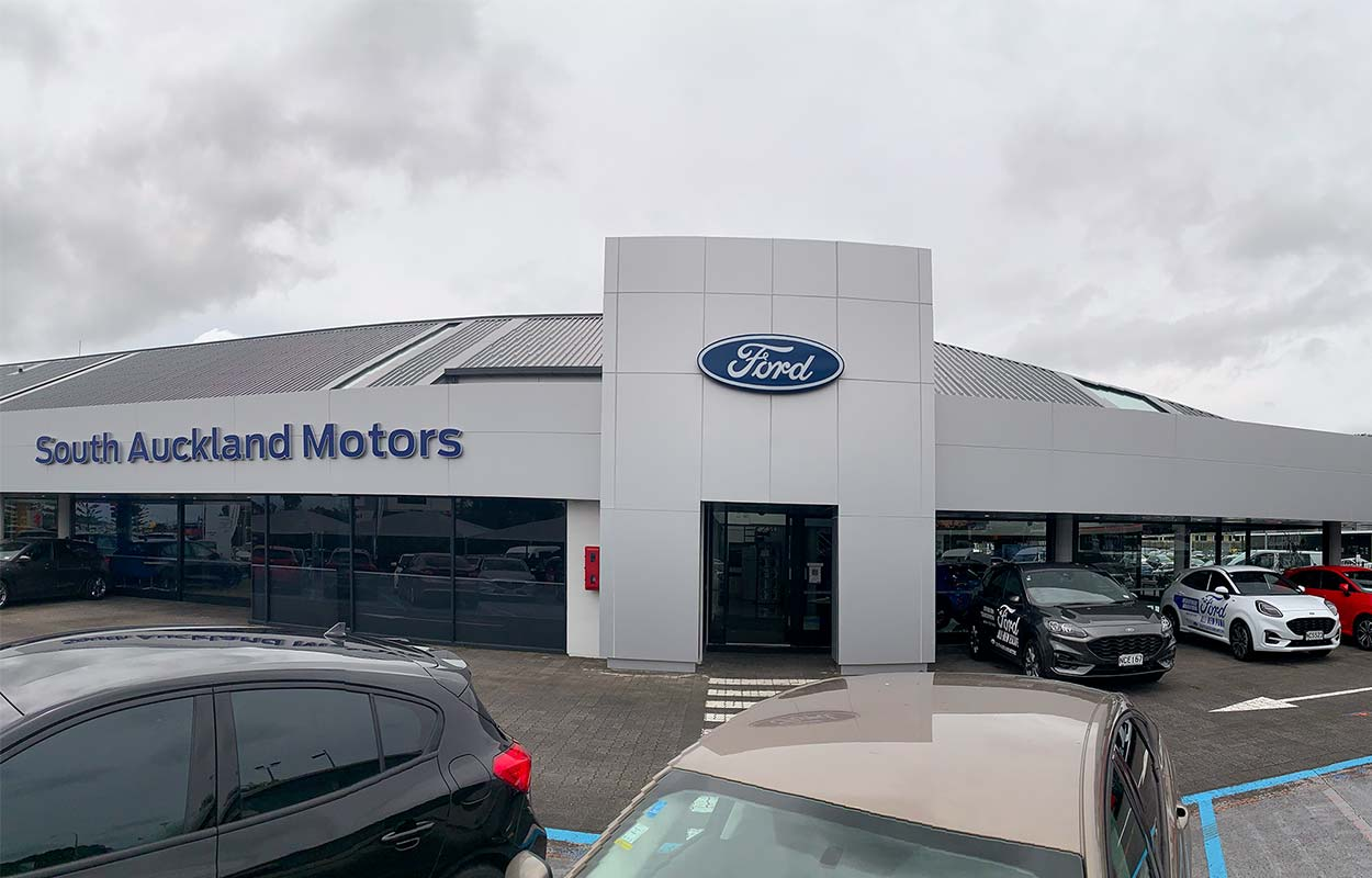 South Auckland Motors Opens Redeveloped Dealership - Exterior