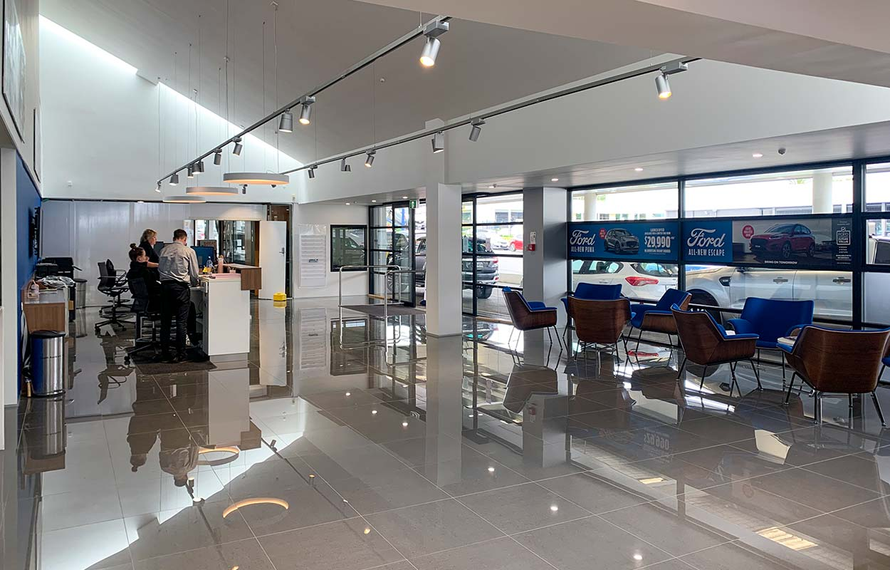 The South Auckland Motors Opens Redeveloped Dealership - Service Reception