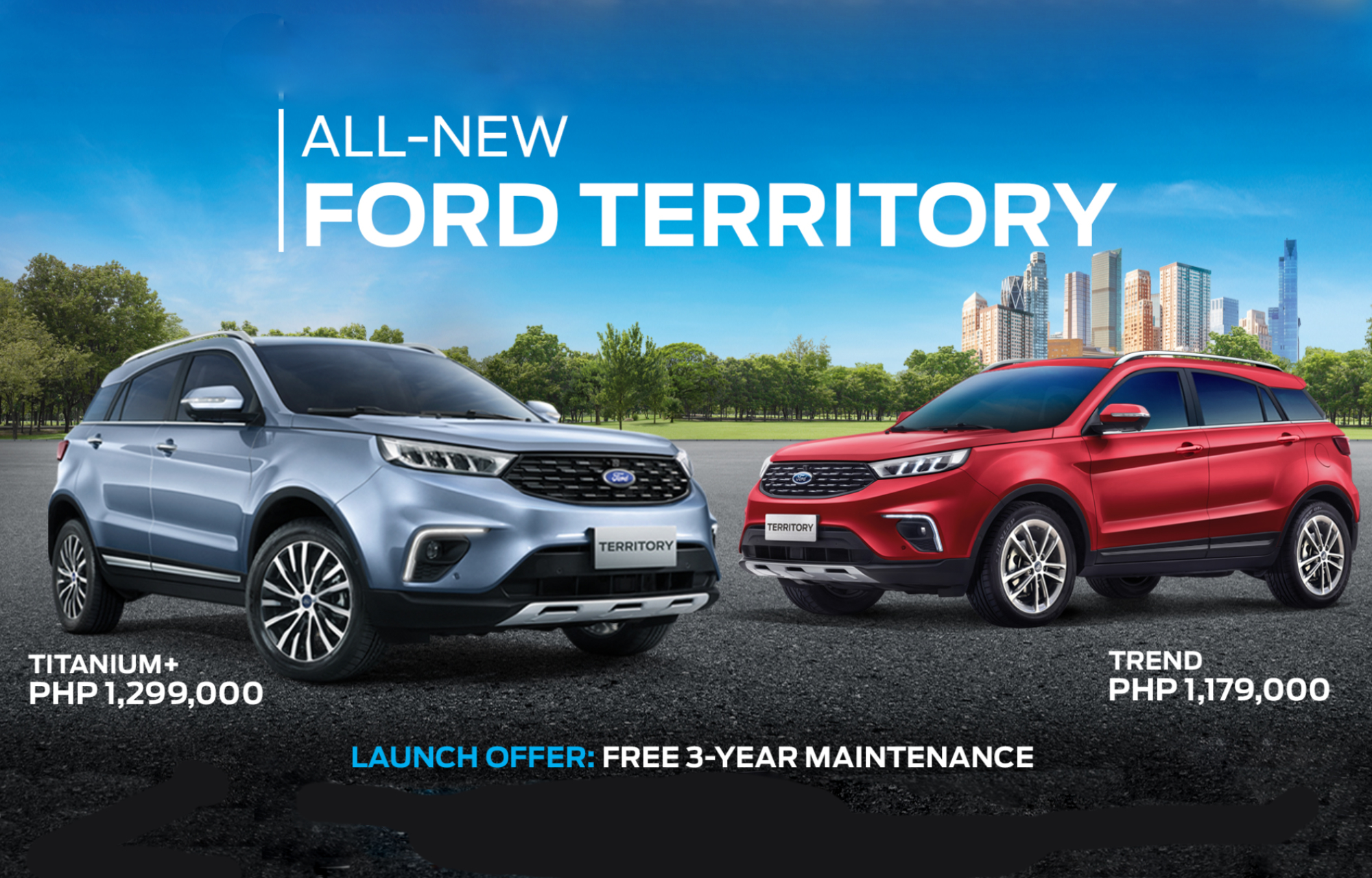 Ford Territory Titanium and Ford Territory Trend
