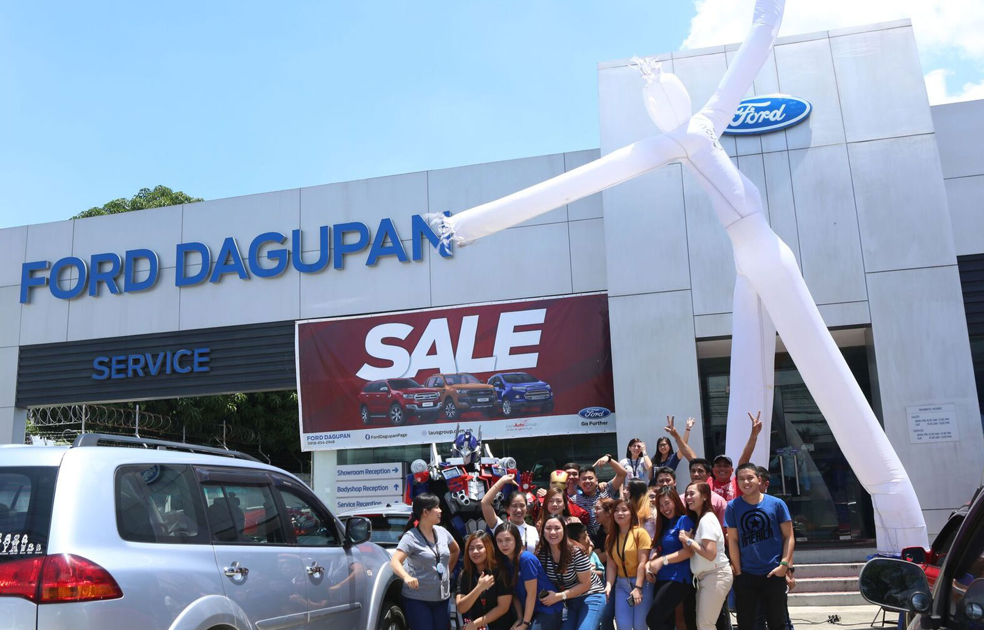 Ford Dagupan's 15th Year Anniversary