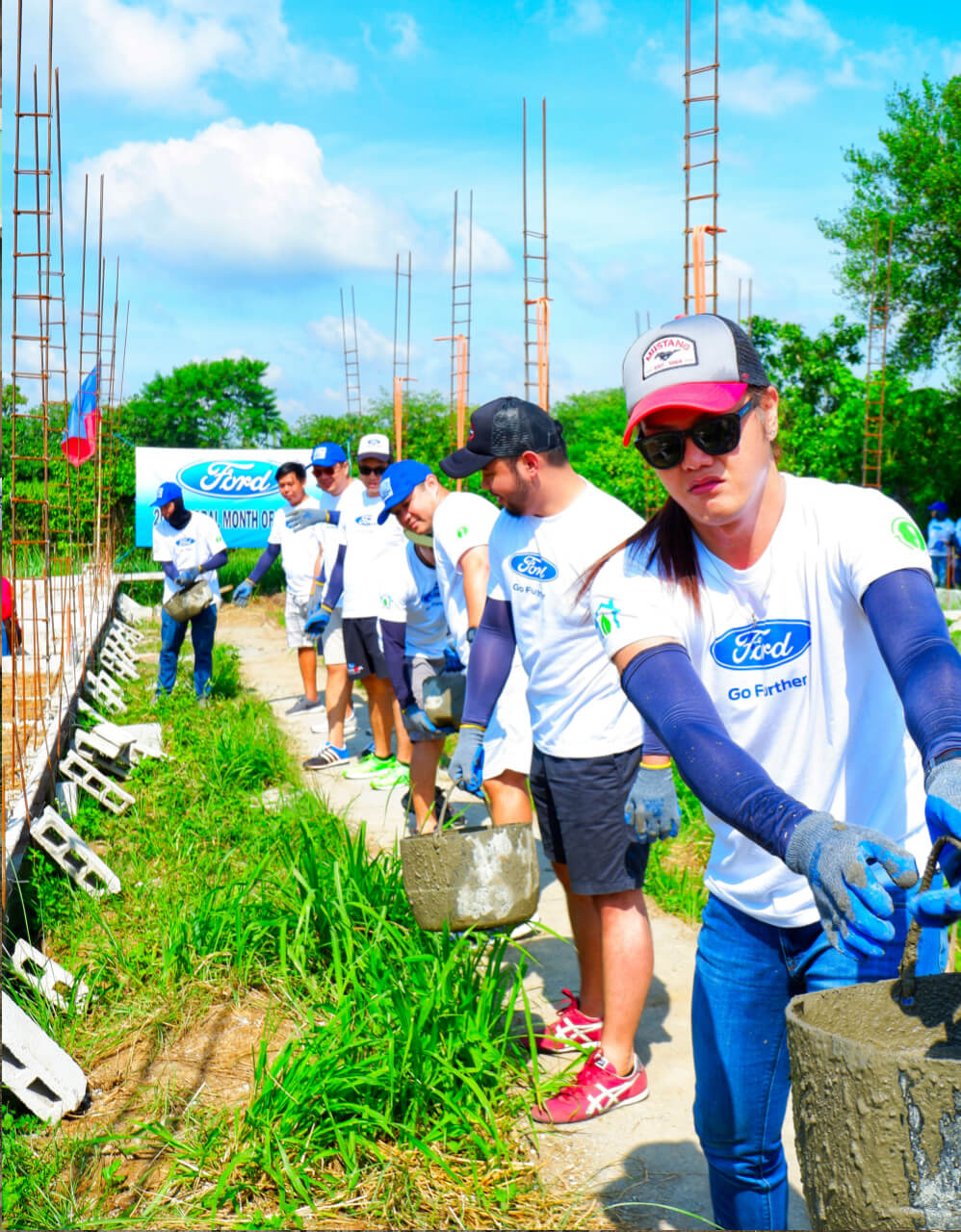 FORD GLOBAL CARING MONTH IN SEPTEMBER