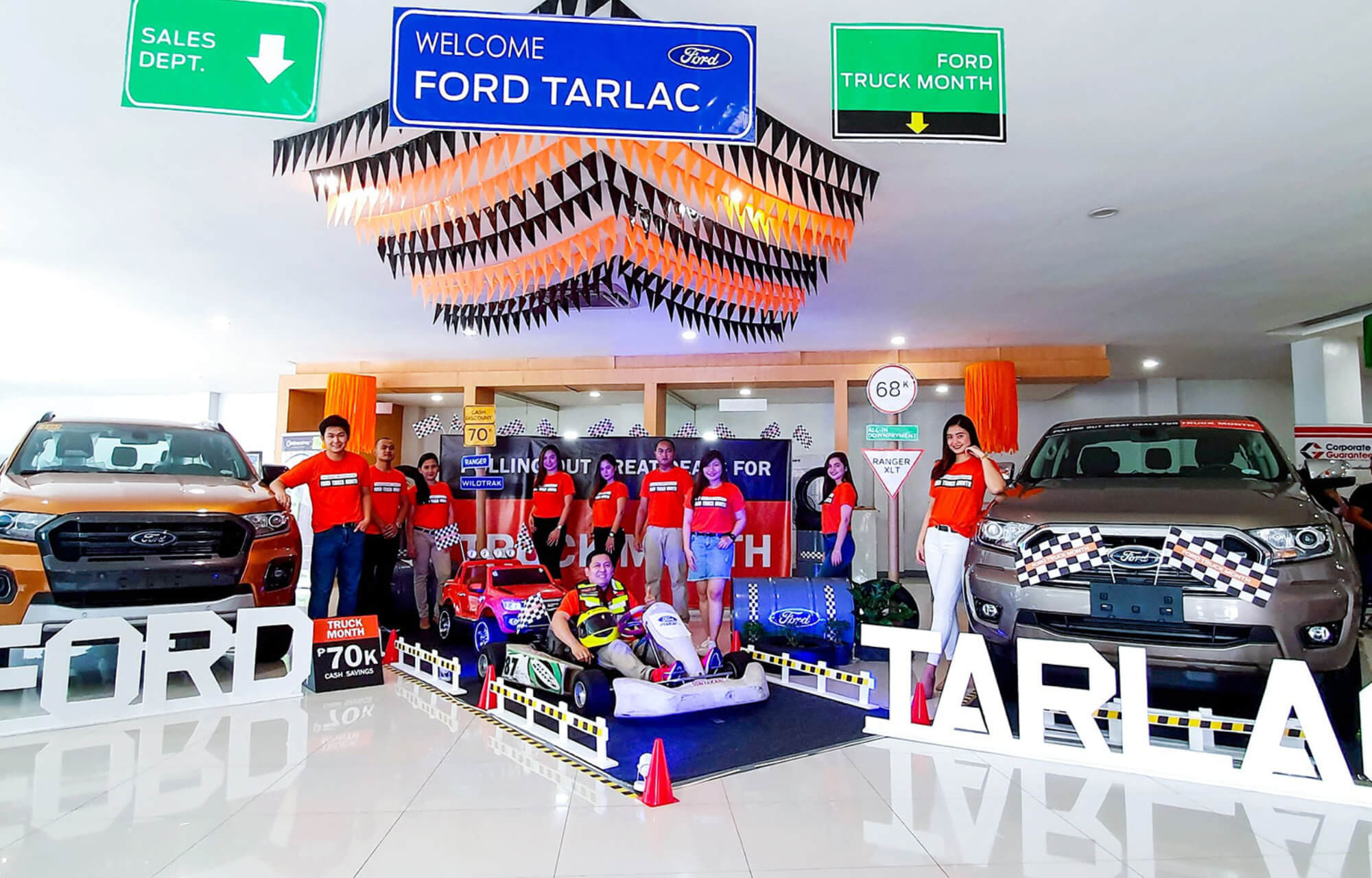 ford ilocs norte-windmills theme for the  ford truck month event