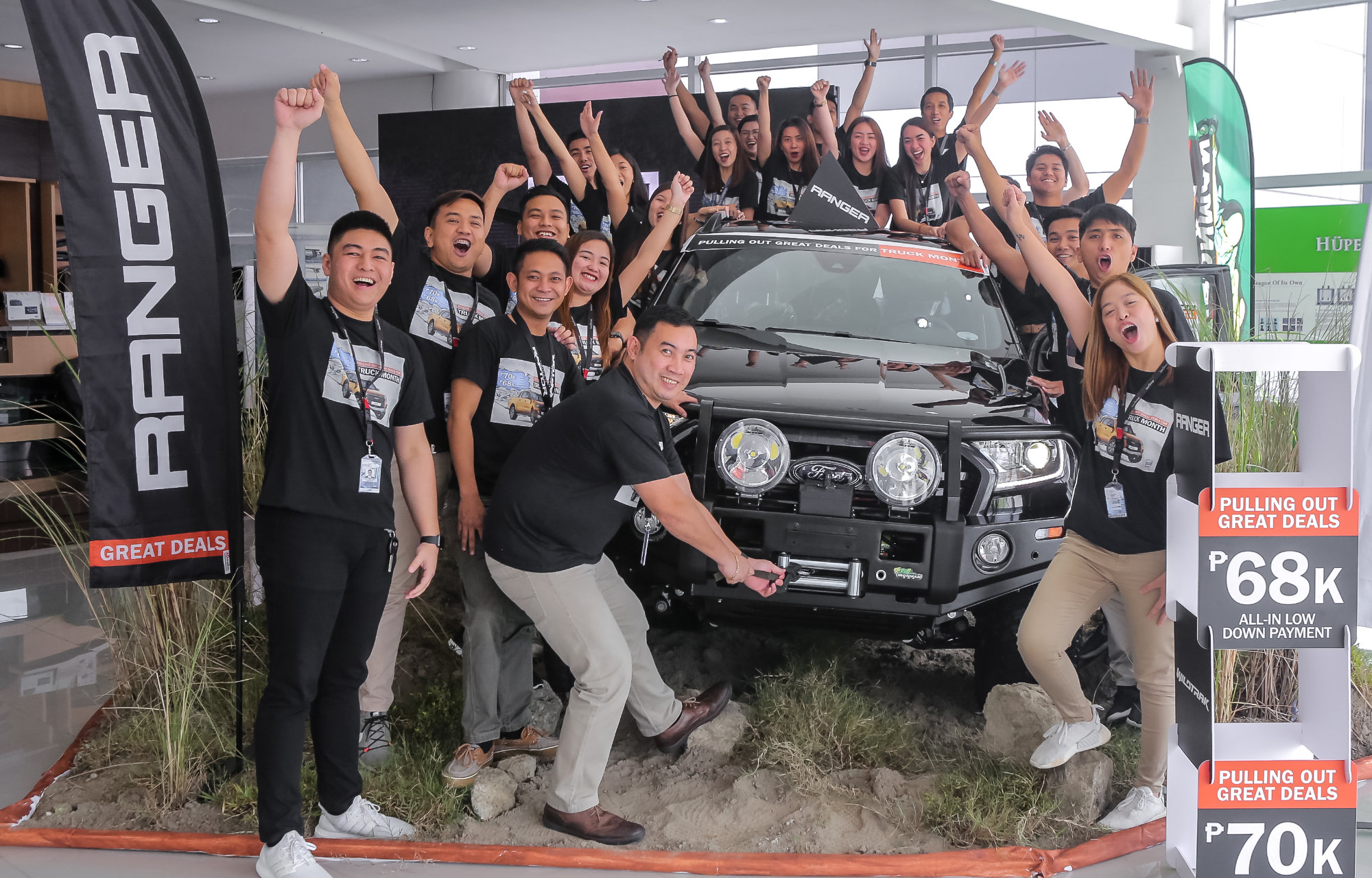 Ford Pampanga - Pinatubo Trekking for Ford Truck Month