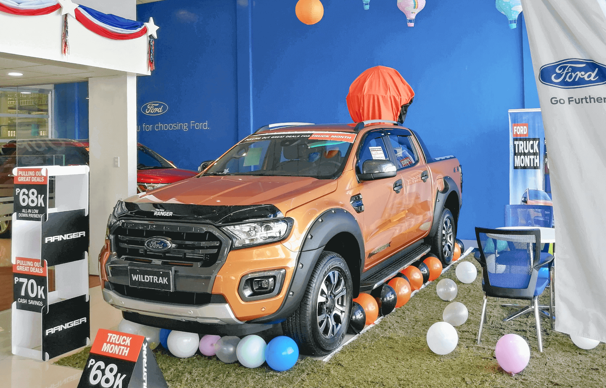 Ford Clark - UP and Away Theme for Ford Truck Month