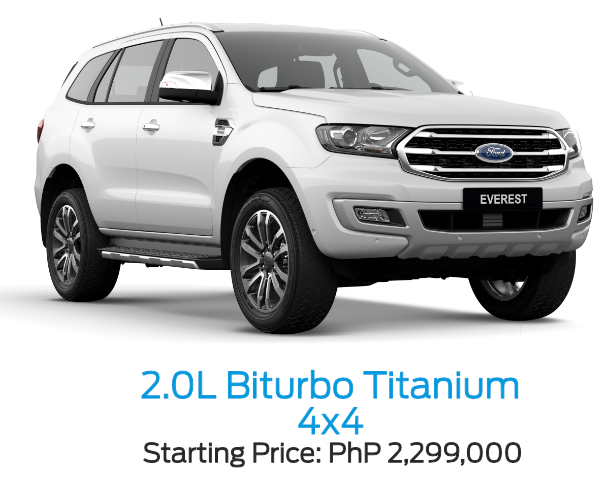 Ford Everest 2.0L BiTurbo Titanium 4x4