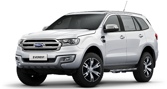 Ford Everest - Cool White