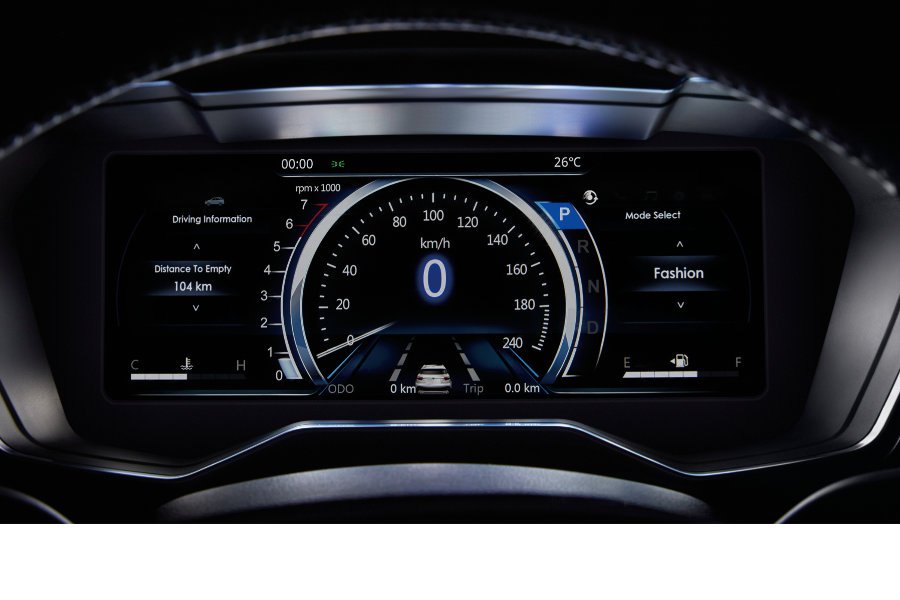 ford territory instrumentation