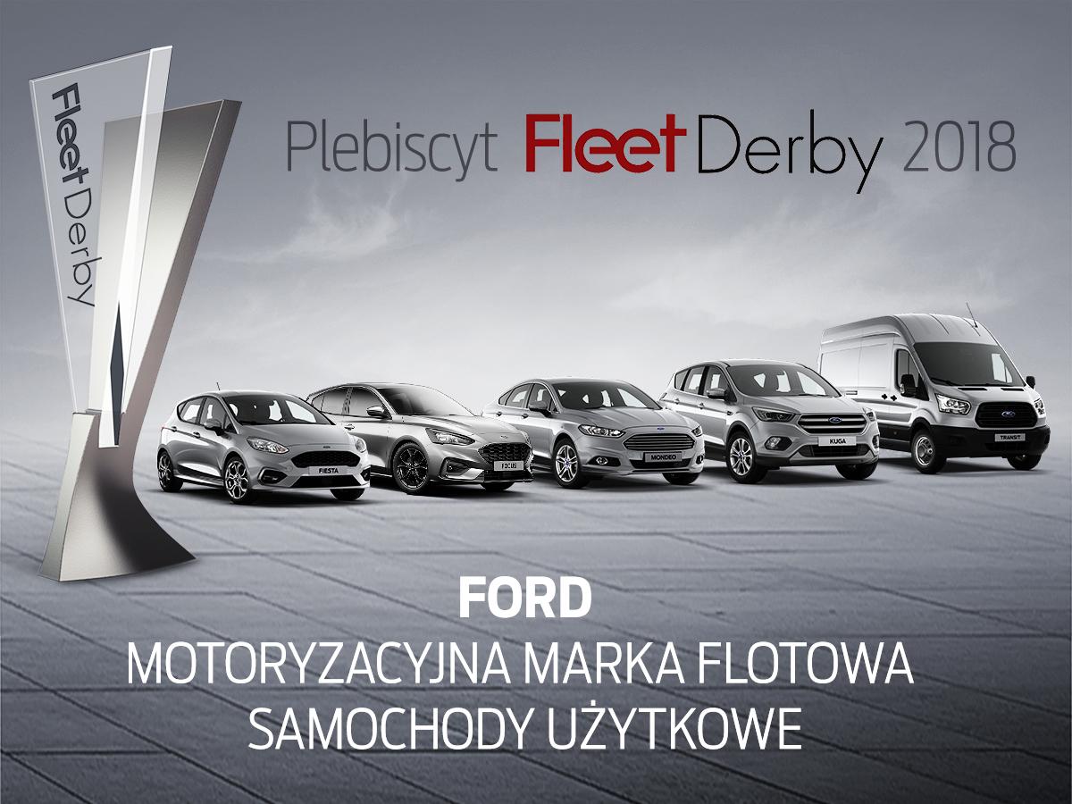 Ford – najlepsza marka flotowa – Samochody Użytkowe