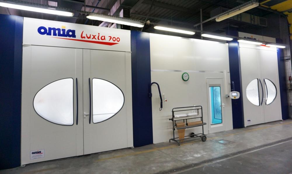 Auto Plaza inwestuje w serwisie blacharsko - lakierniczym