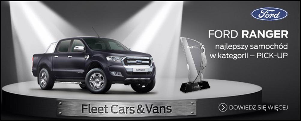 Ford Ranger - najlepszy samochód w kategorii Pick Up