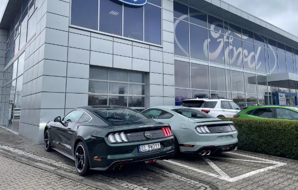 Ford Mustang w salonie Ford Store Łódź
