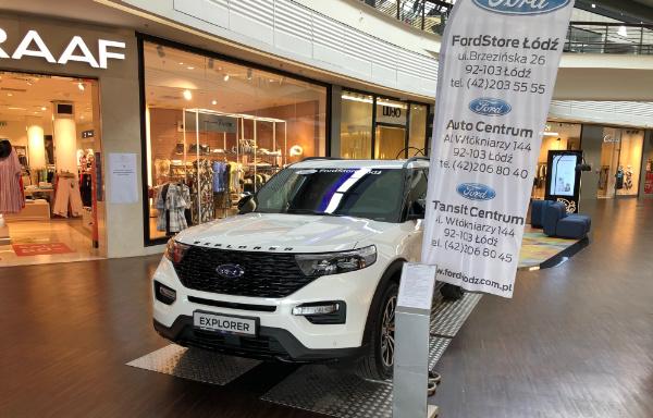 FordStore Łódź - Manufaktura w Łodzi