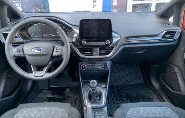 Ford Fiesta - kierownica