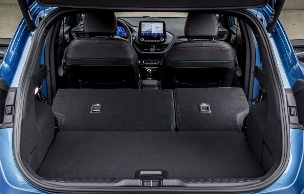 Ford Puma - bagażnik