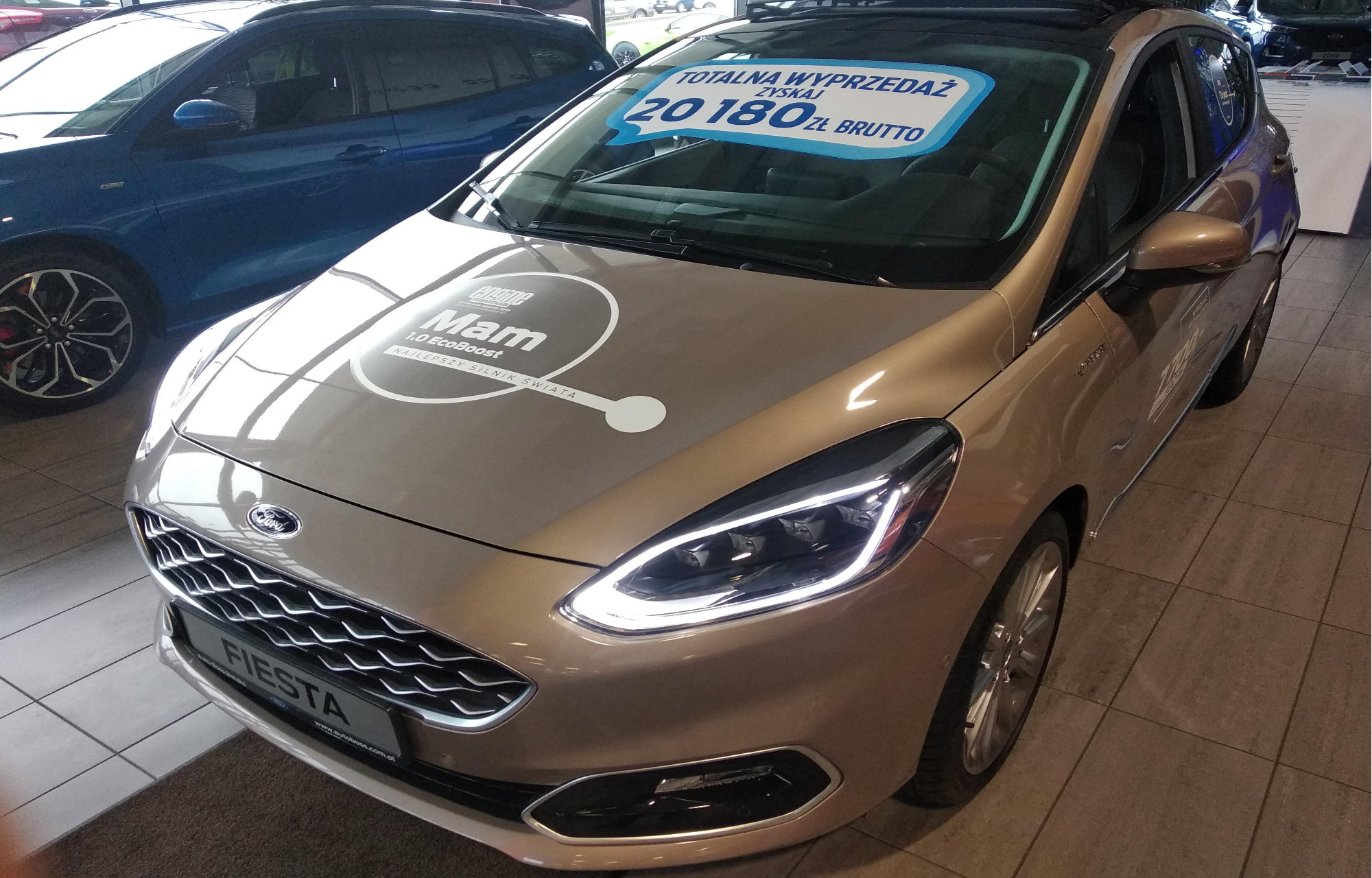 Ford Fiesta Vignale 1.0 EcoBoost 125 KM